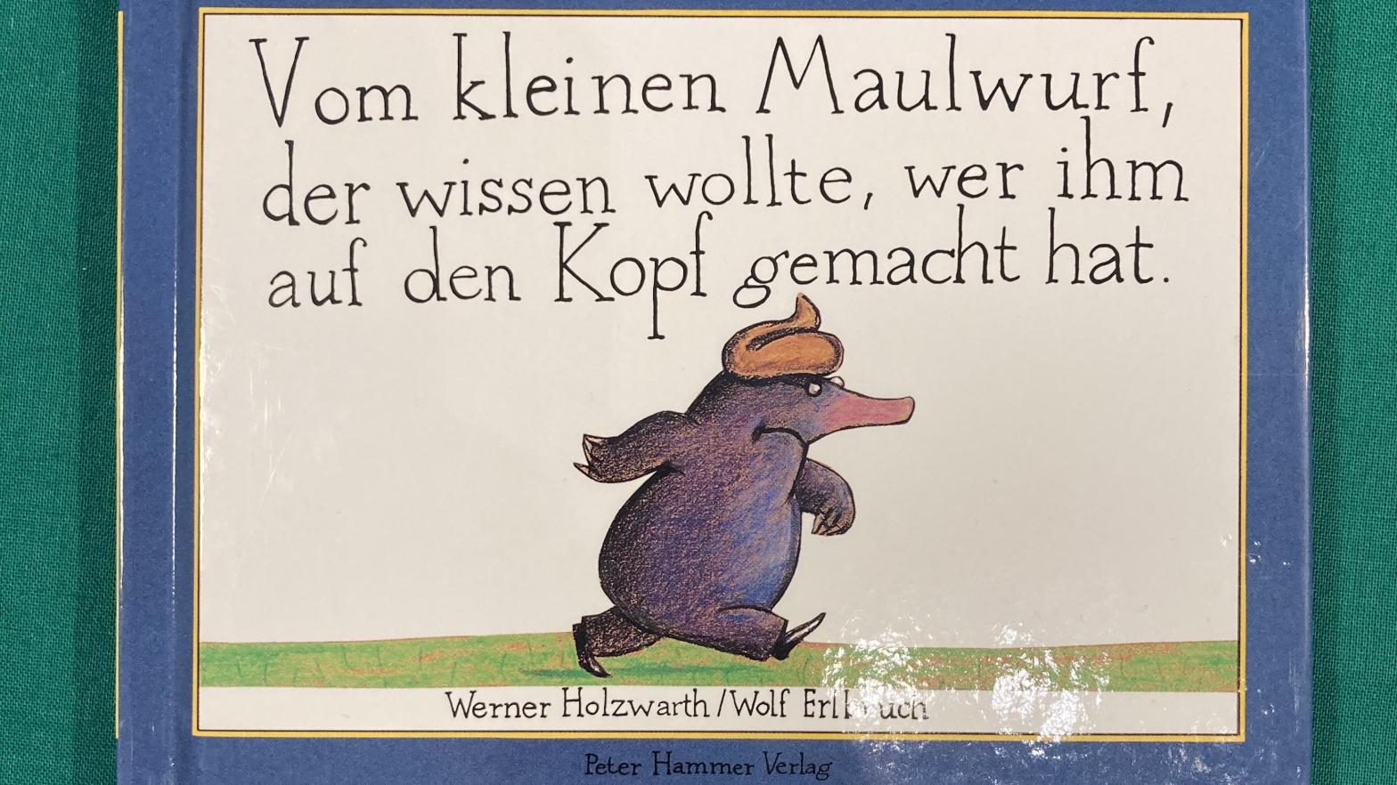 Buch Vom kleinen Maulwurf, der wissen wollte, wer ihm auf den Kopf gemacht hat