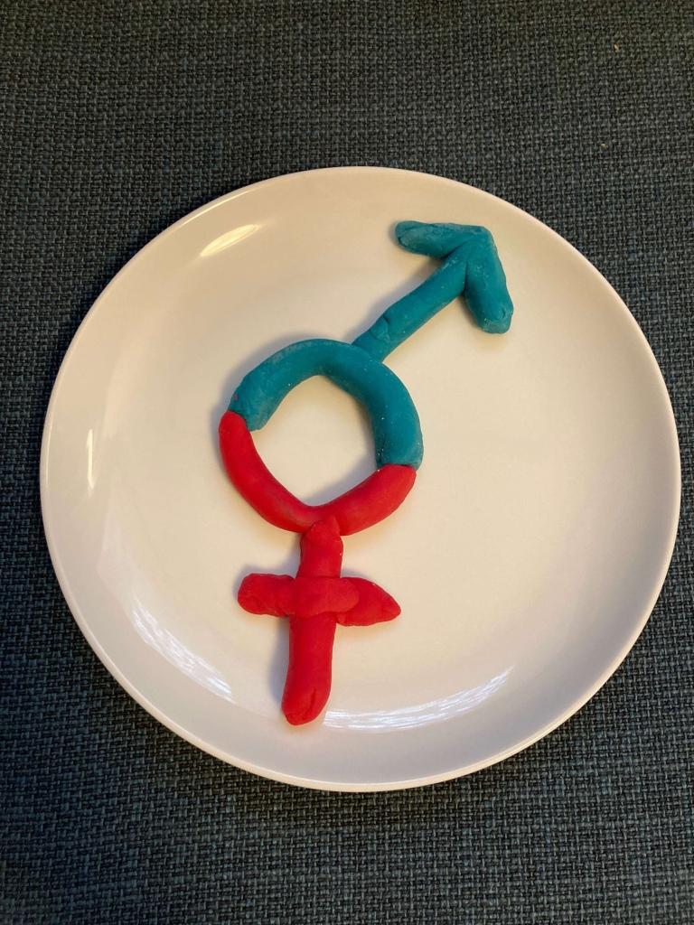 WC Symbol queer Sauberkeitserziehung