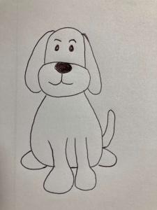 Hund Aylin Stuhlskala