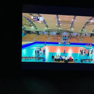 Fernsehen, Volleyballspiel, Österreich vs. Bulgarien