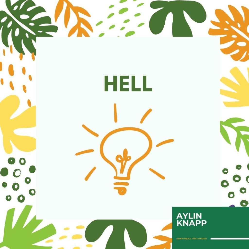 Wohlfühlfakten-Toilette-Text: Hell