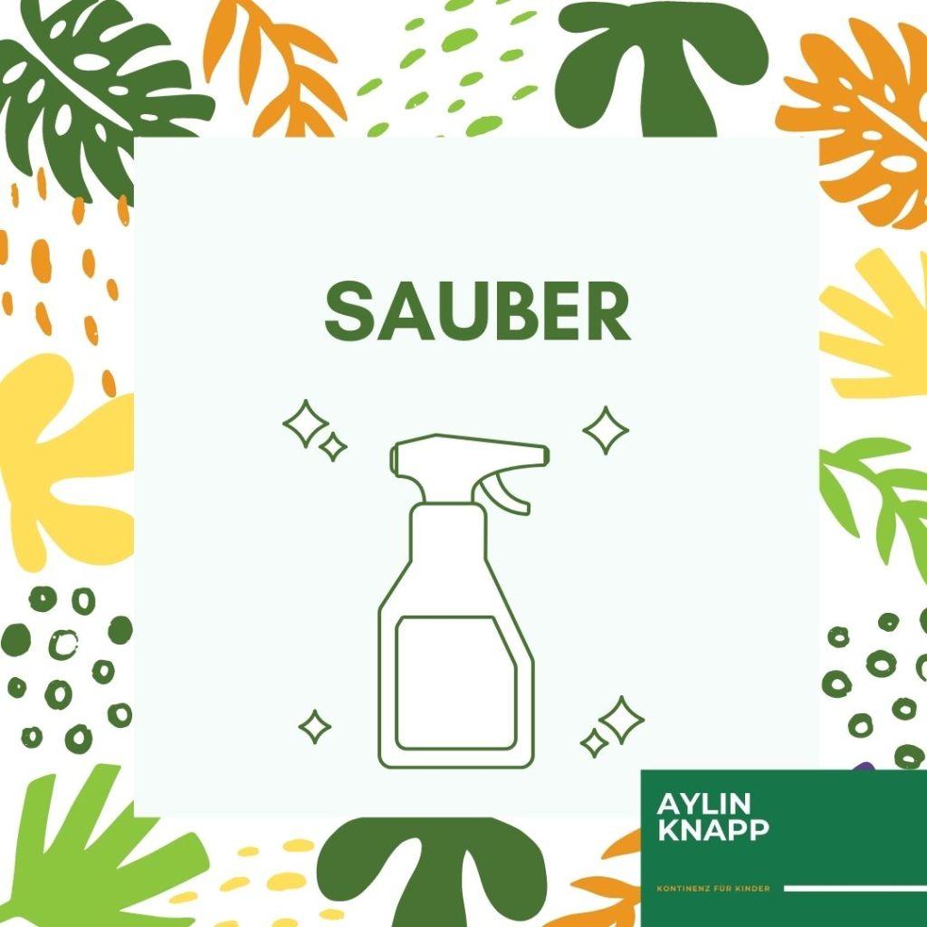 Wohlfühlfakten-Toilette-Text: Sauber